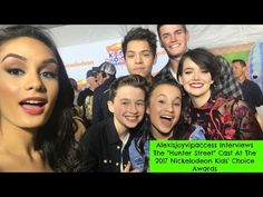 Hunter Street Cast Interview With Alexisjoyvipaccess - 2017 Nickelodeon KCA Hunter Street, Lego House, Interview, It Cast, Actors, Disney, Youtube, Instagram, Shopping