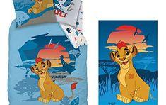 Kit La Garde du Roi Lion: parure + drap de plage LE ROI LION Bleu: Cette promo exceptionnelle revient à vous faire économiser le drap de…
