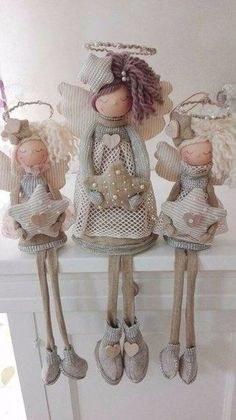 1 million+ Stunning Free Images to Use Anywhere Christmas Sewing, Christmas Gnome, Primitive Christmas, Christmas Angels, Angel Crafts, Diy And Crafts, Christmas Crafts, Christmas Decorations, Christmas Ornaments