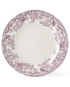 Four Delamere Bouquet Dinner Plates by Spode at Neiman Marcus.