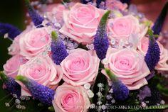 Pink wedding flowers http://www.thestudio-mickleover.co.uk