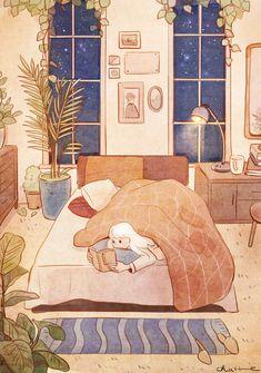 New cute illustration art inspiration artworks 30 ideas Illustration Mignonne, Art And Illustration, Inspiration Art, Art Inspo, Aesthetic Art, Aesthetic Anime, Art Mignon, Cute Drawings, Cute Wallpapers