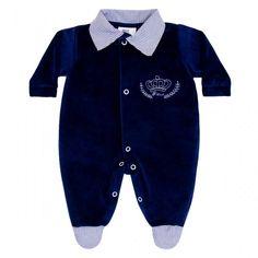 Macacão de Bebê Menino em Plush :: 764 Kids Loja Online, Roupa bebê e infantil !
