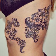ribs.: Tattoo Ideas Second Tattoo Paisley Tattoos World Map Tattoos ...
