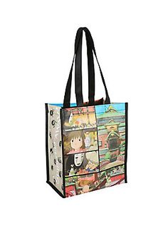 Reusable tote from Studio Ghibli with a <i>Spirited Away</i> design.