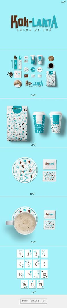 Art direction, branding and packaging for koh-lanta on Behance by Fatma Zahra'a…