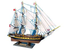 """Master And Commander HMS Surprise Tall Model Ship 30"""""""