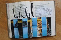 @laurenhooper   WILD   Season of Words   Get Messy Art Journal
