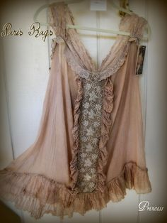 Romantic Gauze and Lace!
