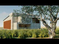 Βιοκλιματική κατοικία | 3D Animation by grammiki a | www.grammki.gr - YouTube 3d Animation, Cabin, Studio, Architecture, House Styles, Youtube, Plants, Design, Home Decor
