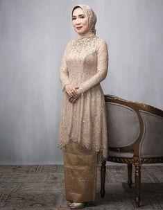 Model Dress Kebaya, Model Kebaya Muslim, Model Kebaya Brokat Modern, Kebaya Modern Hijab, Kebaya Hijab, Dress Brukat, Hijab Dress Party, Hijab Style Dress, Batik Dress