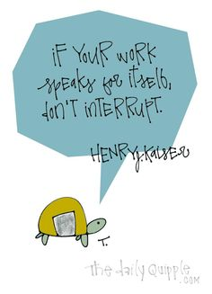 Wise Turtle on Work | The Daily Quipple