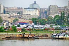 A Flashy, Mysterious Plan for the Belgrade Waterfront - CityLab Belgrade Waterfront, Disney Planes, Pedestrian Bridge, Dutch Artists, Dance Moms, Jamaica, Dubai, Budgeting, Things To Do