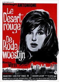 "Movie Poster of the Week: ""Red Desert"" on Notebook | MUBI"