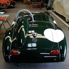 Pattern for short racing WS Glass | MG MGA | MG-Cars.net