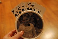 Playing Card Holder - for little ones that can't quite hold playing cards in their hands.