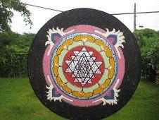 Mandala de proteção Yatra http://soluarte-mandalas.blogspot.com.br/