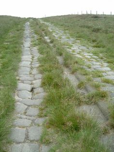 Roman road on Blackstone Edge Moor