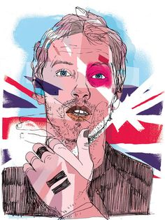 Portfolio Image by Patrick Morgan; Directory of Illustration Portfolio Images, School Art Projects, Art Hoe, Gcse Art, Art Sketchbook, Artist At Work, Identity, Rule Britannia, Sketches