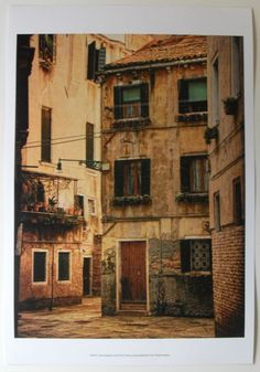 Italian City Photographic Art Print, Venice Snapshots III, by Danny Head | eBay $27.50
