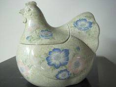 Chicken Cookie Jar by Fitz & Floyd