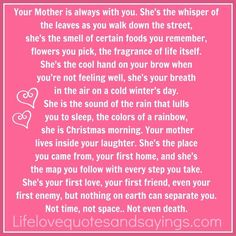 In Memory Of My Mom ~ I love you & miss you lots xoxo