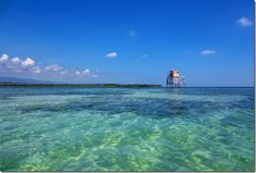 The Pelican Bar ~ a mile offshore Jamaica
