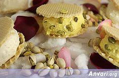 Bastani Akbar Mashti/ Persian Ice cream . So delicious!!!! I miss Iran...