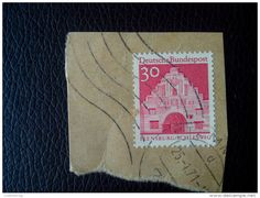 RARE 30 MARKE DDR BUNDESPOST GERMANY RECOMMENDET PACKAGE-LETTRE STAMP ON PAPER COVER USED SEAL - [6] Democratic Republic