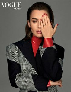 Casting Pics, Vogue, Elegant Chic, Lily Collins, The Most Beautiful Girl, Carrie Bradshaw, Up Hairstyles, Lady, Editorial Fashion