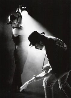 Bono & The Edge for Rattle and Hum by Anton Corbijn. U2 Music, Music Icon, Live Music, Vintage Dior, Vintage Vogue, Vintage Versace, Rock And Roll, Pop Rock, Great Bands