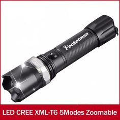 Led Torch - Zoomable & Waterproof
