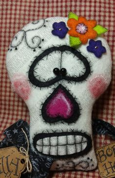 Heads Will Roll patrón 223 muñeca primitivo por GingerberryCreek