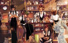 Tags: Fanart, Yu-Gi-Oh!, Yami Yugi, Yu-Gi-Oh 5Ds, Pixiv, Yu-Gi-Oh! GX, Yusei Fudo, Juudai Yuuki, Yu-Gi-Oh! ZEXAL, Tsukumo Yuma, Astral, Fanart From Pixiv, Yu-Gi-Oh! Duel Monsters, Mutou Yuugi, Pigeon666, Yu-Gi-Oh! ARC-V, Sakaki Yuya
