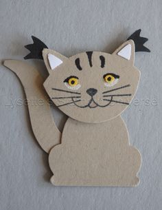 Fox Builder Punch Challenge dag 22: Caracal https://www.facebook.com/Lysettes.stampin.universe/?ref=bookmarks