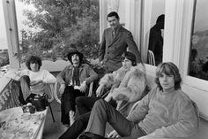 Pink Floyd at The Casa Madrona Hotel, Sausalito, CA 1967