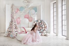 In love with all things pretty, pastel, balloons, pink & tulle! Just like our romantic soft tulle ballgowns & skirts 💕💖🎈 Balloon Arch, Balloon Garland, Balloon Decorations, Wedding Decorations, Balloon Shades, Baby Shower Balloons, Event Decor, Wedding Designs, Party Time