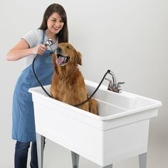 40 utility sink for laundry room perfect for bathing our dogs buy mustee 28cf big tub utilatub combo utility sink 40w x 24d x 34h riverbend home solutioingenieria Images