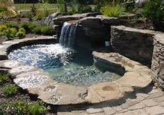 yards with hot tubs - Bing Images