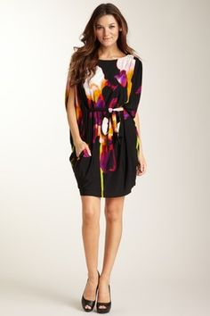 Suzi Chin Original Batwing Dress