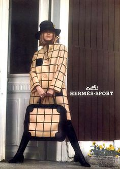 Hermès sportswear, baggage and luggage, 1968