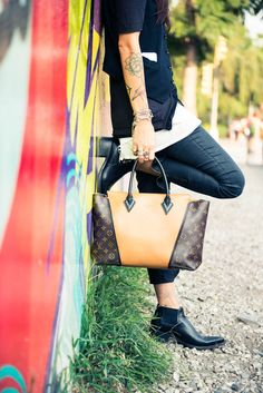 Artist  and photographer Tasya Van Ree features the W handbag on The Coveteur. (via  http://www.thecoveteur.com)