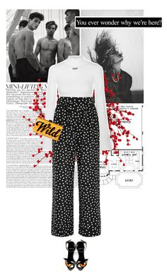 """""""i am powefull."""" by eve-angermayer on Polyvore featuring Jenny Bird, Off-White, Dolce&Gabbana, Pierre Hardy, Edie Parker, StreetChic, eveangermayer and angermayerevelin"""
