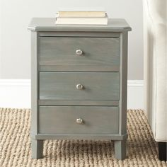 Safavieh Joe Ash Grey End Table - Overstock™ Shopping - Great Deals on Safavieh Coffee, Sofa & End Tables