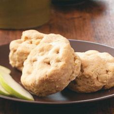 Biscuit Recipes from Taste of Home, including Buttery Apple Biscuits
