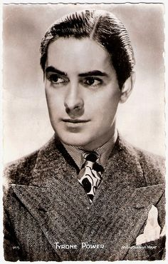 Tyrone Power (circa 1930's)