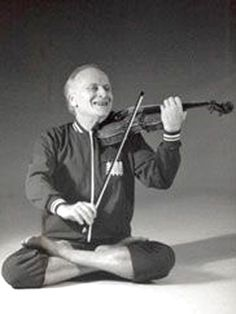 Yehudi Menuhin, the famous American violinist & conductor. He was a devotee of Yoga as a disciplined way of both exercising and relaxing