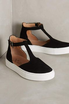 KMB T-Strap Sneakers - anthropologie.com