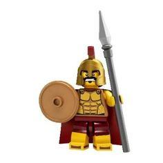 Amazon.com: LEGO - Minifigures Series 2 - SPARTAN WARRIOR: Toys & Games