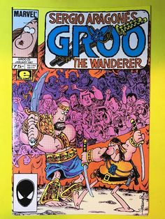 1987 Marvel GROO The WANDERER Series #23 Comics Book EPIC Jan. Sergio Aragone's